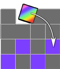 Glowing Tiles